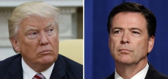 Donald Trump accusé d'obstruction judiciaire concernant le licenciement de James Comey