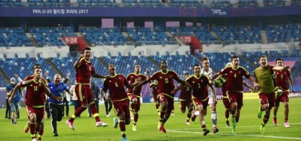 La sub20 de Venezuela se robó todas las miradas durante el Mundial de la categoría. Foto:az778189.vo.msecnd.net
