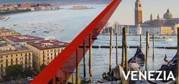La tratta Napoli Venezia di Italo treno. (Fonte: Web)