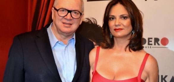 Lirio Parisotto e Luiza Brunnet (Foto: Divulgação)