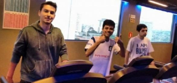 Academia faz parte da rotina de treinamentos de cyber atletas. (Foto: Divulgação/CNB)