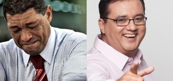 Valdemiro, à esquerda, fala de Rezende e Geraldo Luís, à direita, rebate com declaração (Foto: Google)