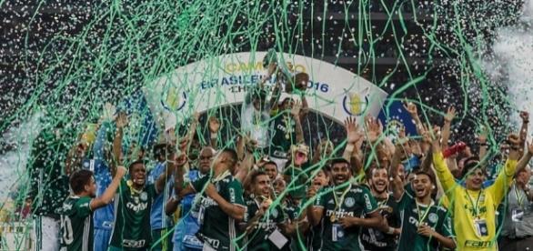 Time campeão brasileiro de 2016 ( Foto: Reprodução)