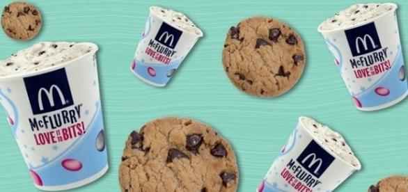 Twitter user combines Oreo McFlurry and chocolate chips cookies - Image: NBC