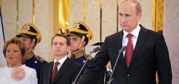 Vladimir Putin inaugurated as President of Russia/ creative commons Kremlin via wiki