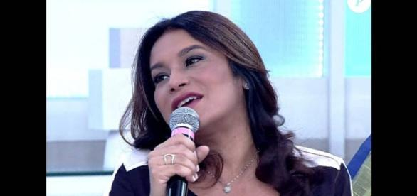 Atriz Dira Paes foi convidada do programa de Fátima Bernardes (Foto: Divulgação)