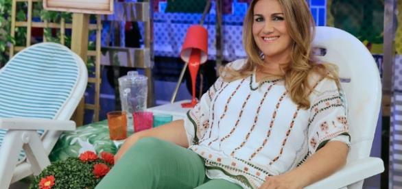 "Carlota Corredera, presentadora del programa de Telecinco ""Cámbiame"""