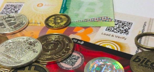 Different stores and representations of Bitcoin/ photo by BTC Keychain via flickr
