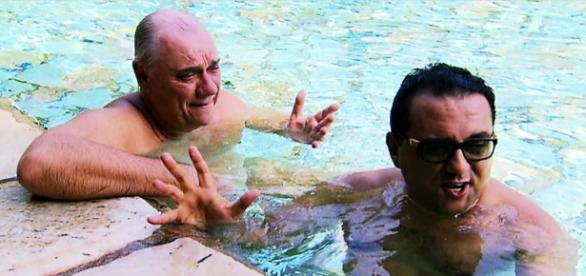 Marcelo Rezende e Geraldo Luís em clima de pura amizade - Google