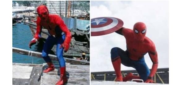 Mudança do Homem-Aranha no cinema