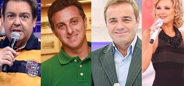 Veja quanto faturam alguns famosos da TV (Foto: Montagem/ Reprodução)