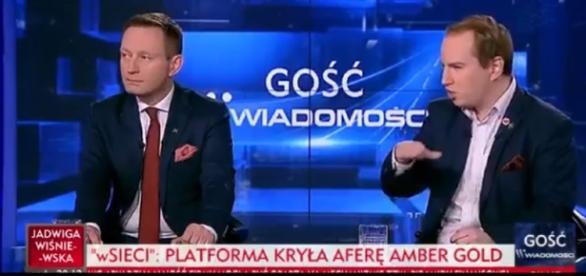 Adam Andruszkiewicz (źródło: TVP Info).