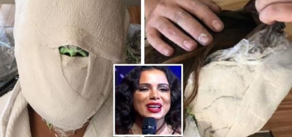 Anitta aparece 'mumificada' e choca fãs - Google