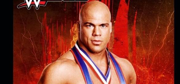 Kurt Angle Pre order bonus for WWE 2K18 screenshot/ Photo via @RealKurtAngle, Twitter