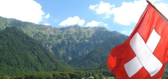 Paesaggio tipico Svizzero, luogo incantevole per molti - Wikipedia