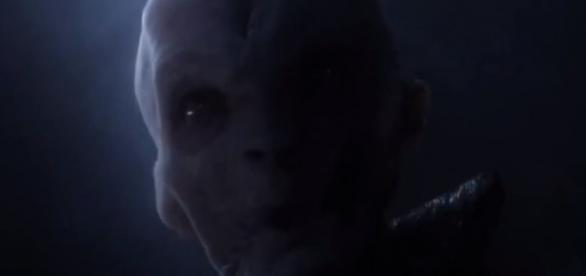 All of Supreme Leader Snoke Scenes in The Force Awakens -Star Wars Rebels/YouTube