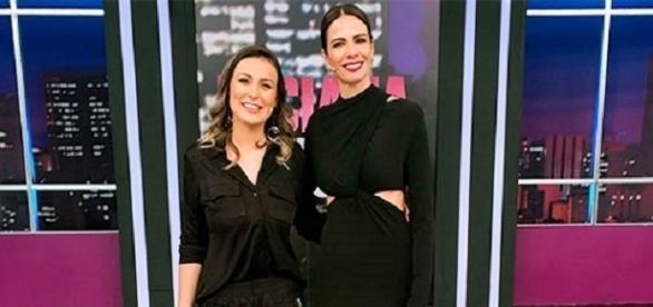 Andresa Urach concede entrevista a Luciana Gimenez