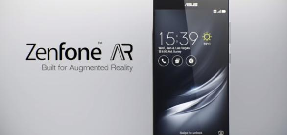 ASUS Zenfone AR. - ASUS/YouTube screenshot