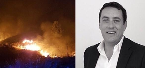 Bivona in fiamme, interviene Francesco Coppa