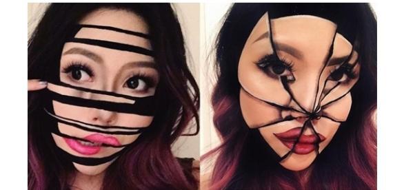 Efeitos inacreditáveis feitos apenas com maquiagem