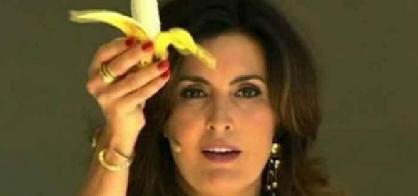 Fátima Bernardes está se divertindo muito fora da Globo. ( Foto: Reprodução)