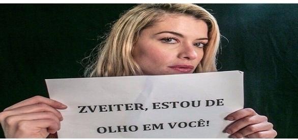Artistas como Alinne Moraes, Fernanda Lima e Caetano Veloso se mobilizam para pressionar deputados federais (Foto: Reprodução)