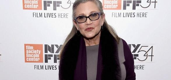 Carrie Fisher (Credit BN Library)
