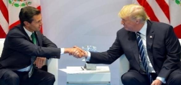 Enrique Peña Nieto y Donald Trump en la Cumbre G-20