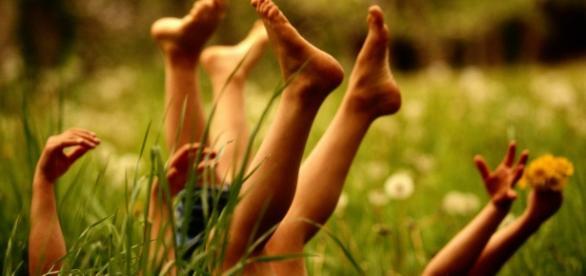 As crianças precisam ter mais contato com a natureza