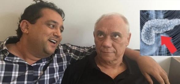 Geraldo e Marcelo são amigos de longa data (Foto: Reprodução)