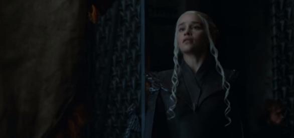 "Jon Snow meets Daenerys Targaryen in ""Game of Thrones"" Season 7 (Photo:YouTube/HBO)"