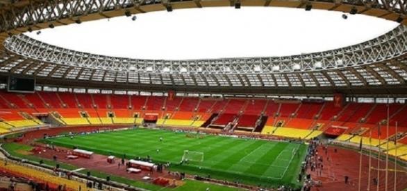 Lo stadio 'Luzhniki' di Mosca, teatro del match inaugurale e della finale dei Mondiali 2018