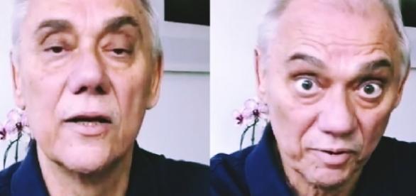 Marcelo Rezende reaparece em vídeo - Google