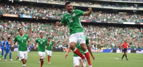 México 3-1 El Salvador: El Tri golea a la Selecta y lidera el ... - beinsports.com
