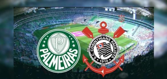 Palmeiras e Corinthians se enfrentam nesta quarta (12), pelo Brasileirão (Foto: Reprodução/ Montagem)