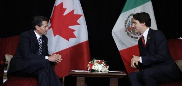 Peña Nieto y Justin Trudeau en la Cumbre G-20