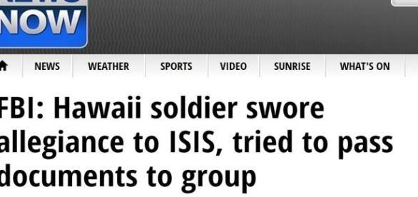 Prisão de soldado acusado de manter relação com Estado Islâmico foi destaque na imprensa estadunidense