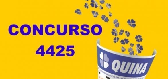 Resultado do concurso 4425 da Quina, sorteio realizado nesta segunda-feira (10)