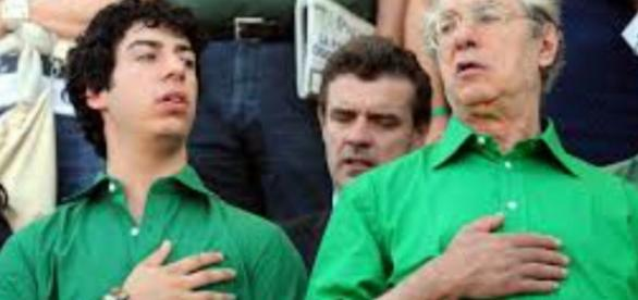 Umberto Bossi e il figlio Renzo condannati