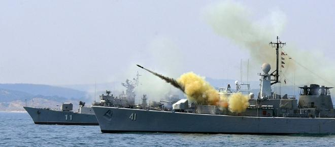 NATO Forces in the Black Sea: The Americans sent a ship with anti-rocket shield