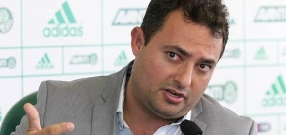 Diretor de futebol do Palmeiras