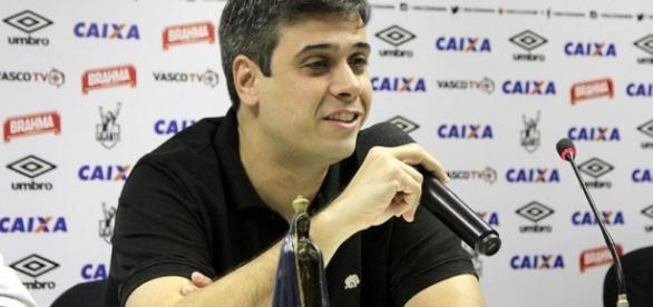 Euriquinho, vice de futebol do Vasco (Foto: Reprodução)