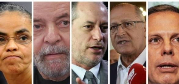 Presidenciáveis rumo às eleições 2018. ( Foto: Reprodução)