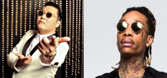 PSY ' Gangnam Style' vs Wiz Khalifa (Foto: Reprodução)