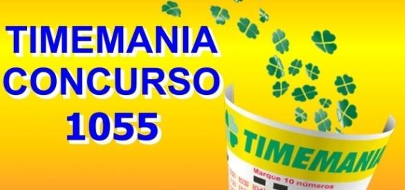 Resultado do concurso 1055 da Timemania, sorteio realizado nesta terça-feira, dia 11