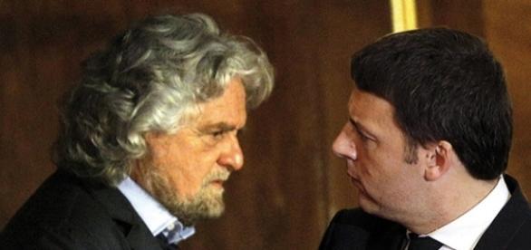 Beppe Grillo attacca nuovamente Matteo Renzi sulla questione migranti