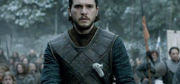 Jon Snow no nono episódio da sexta temporada de Game of Thrones