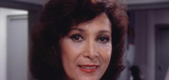 Maria Estela participou em várias novelas da Globo
