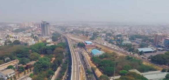 Modern India Bangalore - Silicon Valley of India | Aerial (Drone) Video in 4K - Image TheQuadCamBros | YouTube