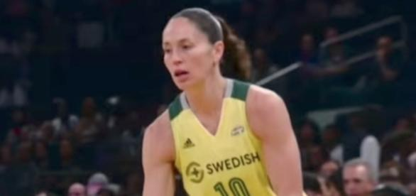Sue Bird was voted to her 10th WNBA All-Star Game for her legendary career. [Image via WNBA/YouTube]